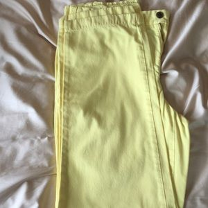 Yellow Brooks Brothers Chino Pant